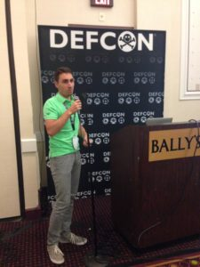 Jérémy Matos at DefCon 2016